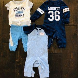Baby boy Newborn size sets -3 Pack